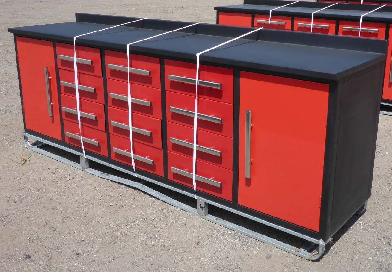 steel stainless work bench workbench drawers with metal