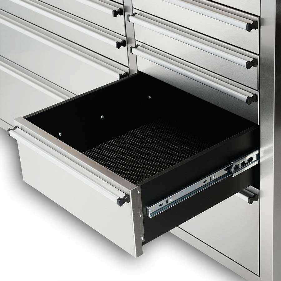 72 Quot Stainless Steel 15 Drawer Tool Bench Htc7215w Uncle