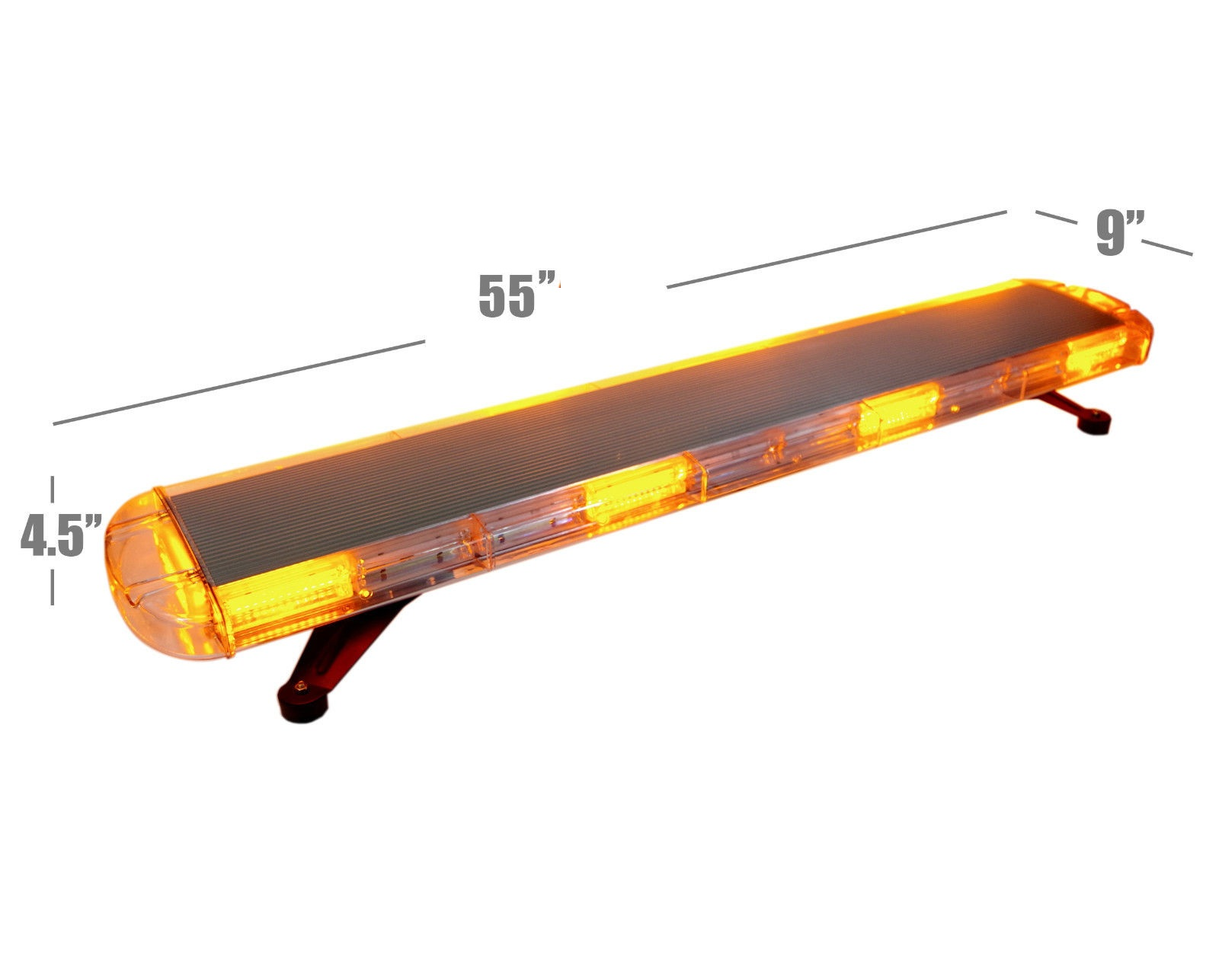 55 inch 60 inch led amber strobe light bar uncle wieners 55 inch 60 inch led amber strobe light bar aloadofball Choice Image