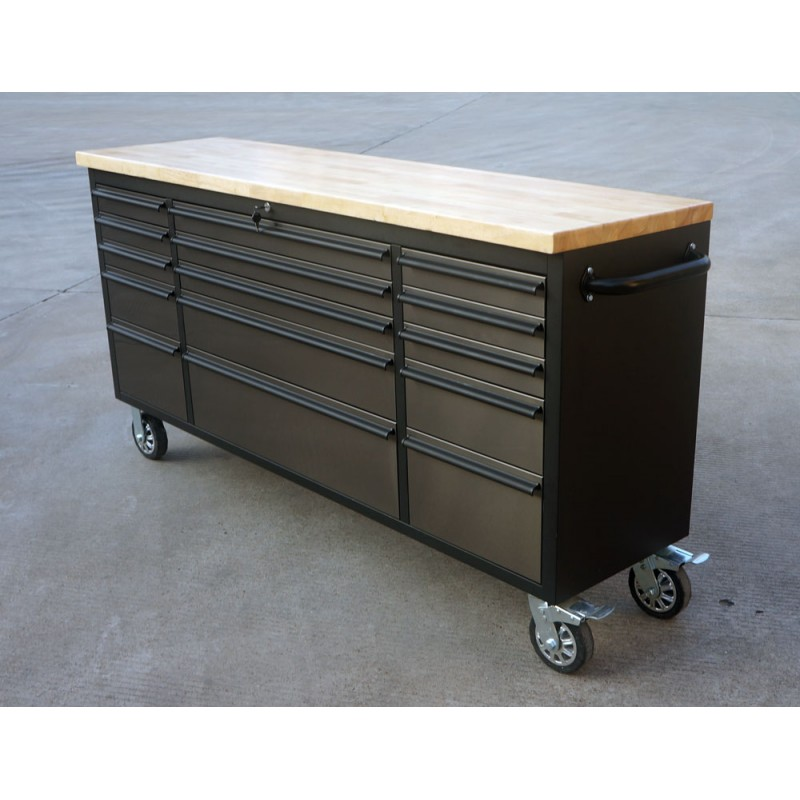 New 72 In Black Stainless Steel Tool Bench 7215b Uncle Wiener 39 S Wholesale