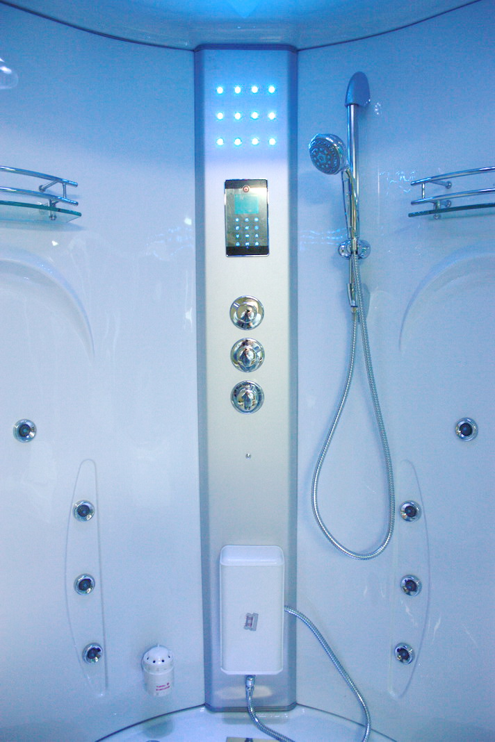 PURE STEAM & BATH™ WHIRLPOOL JACUZZI & STEAM SHOWER 0514 - Uncle ...
