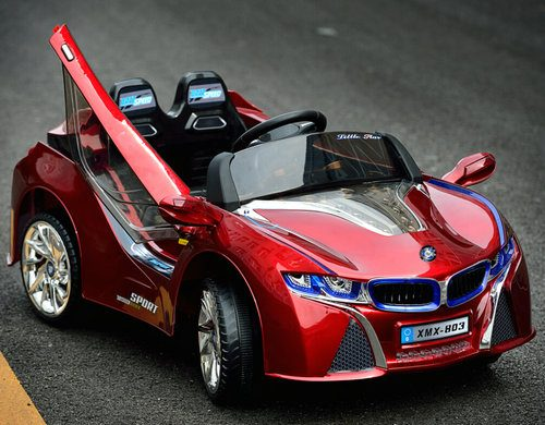 12 volt kids car bmw i8 style xmx803 on sale as low as 22495