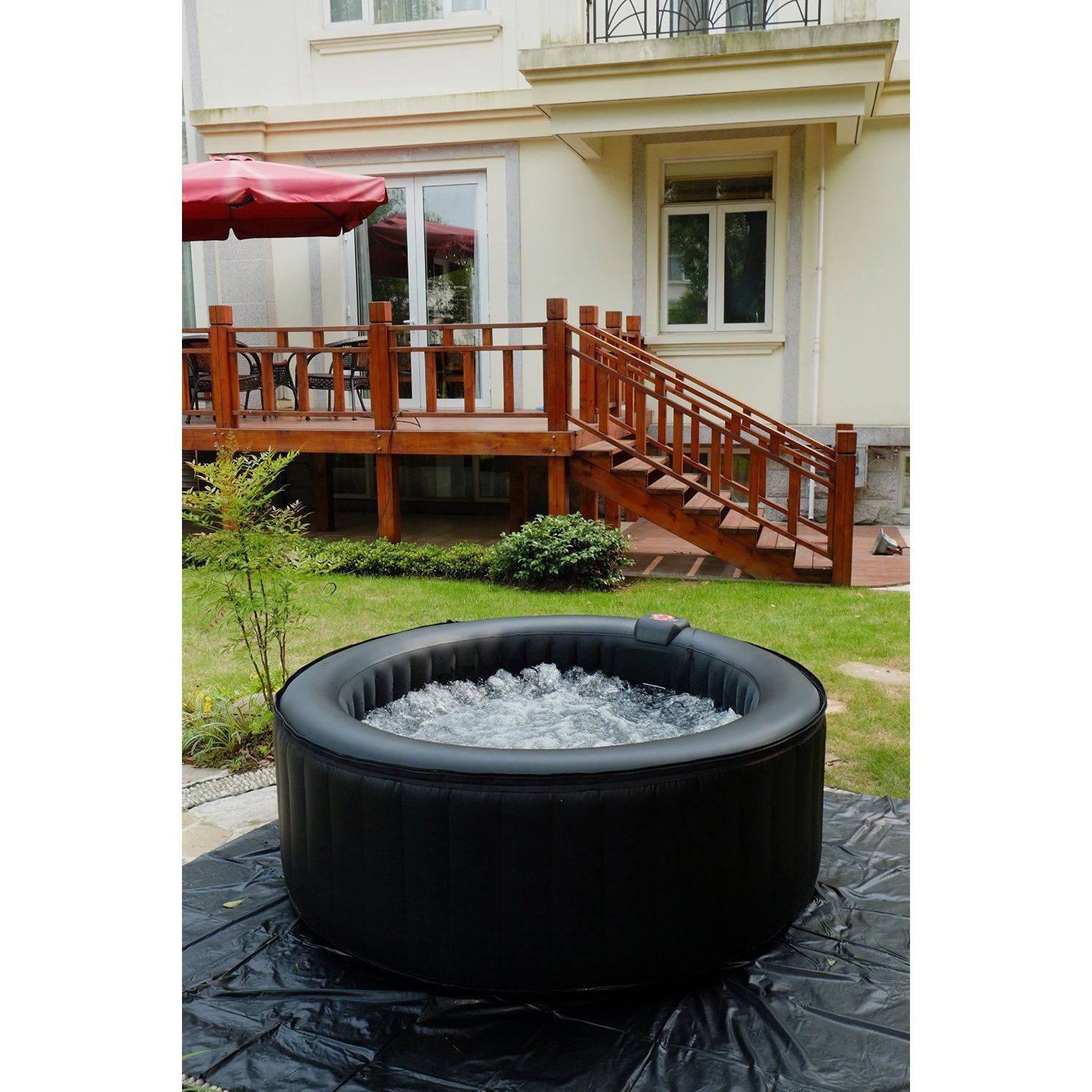 NEW GALLON INFLATABLE 8 PERSON HOT TUB Uncle Wieners Wholesale
