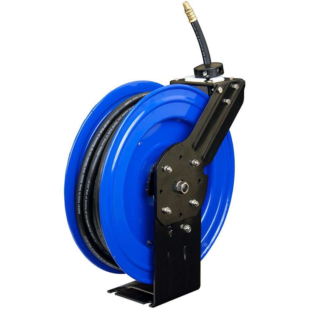 New ft metal air hose retractable reel uncle
