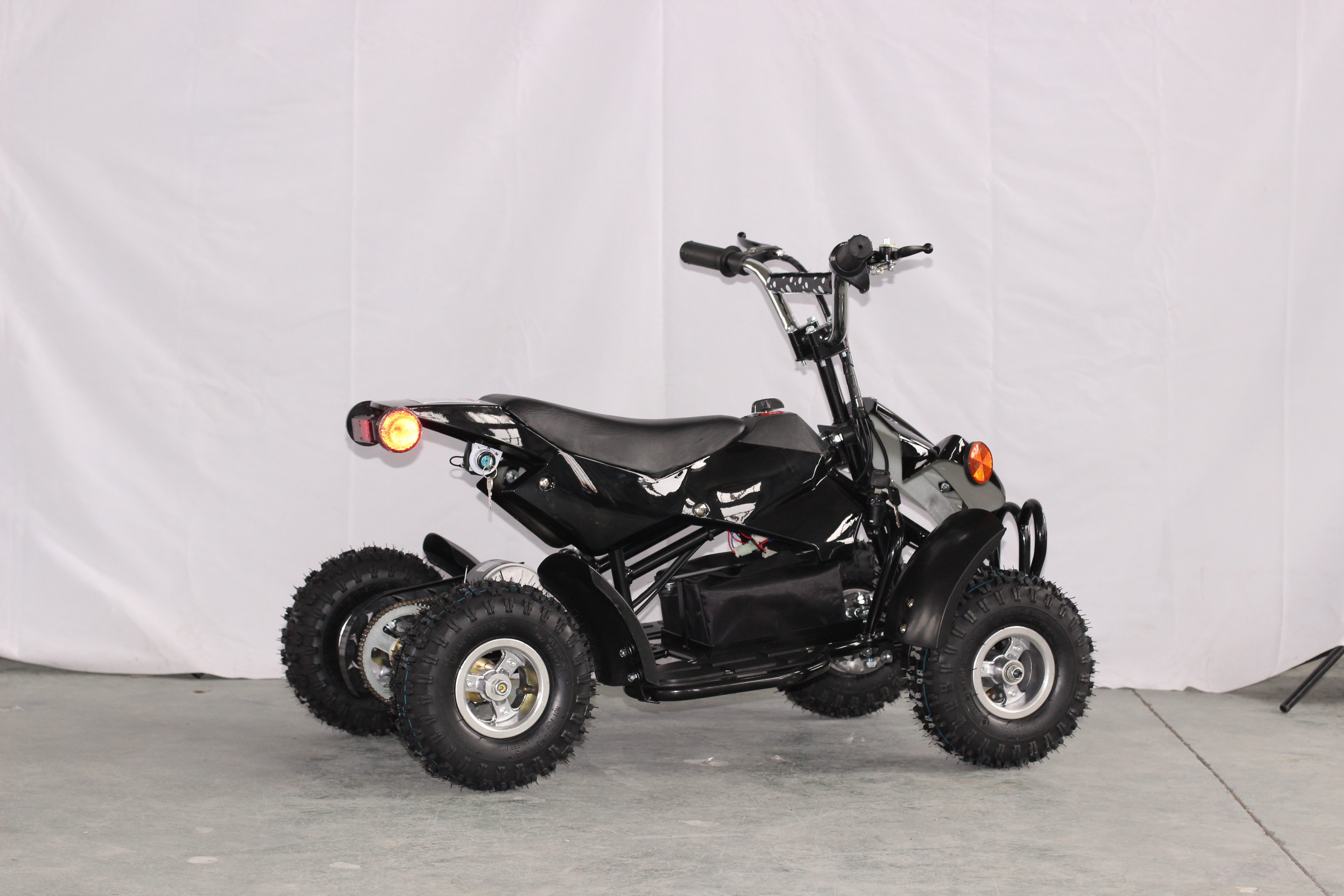 350w electric quad atv black kids atv003e uncle wiener 39 s for Motorized atv for toddlers