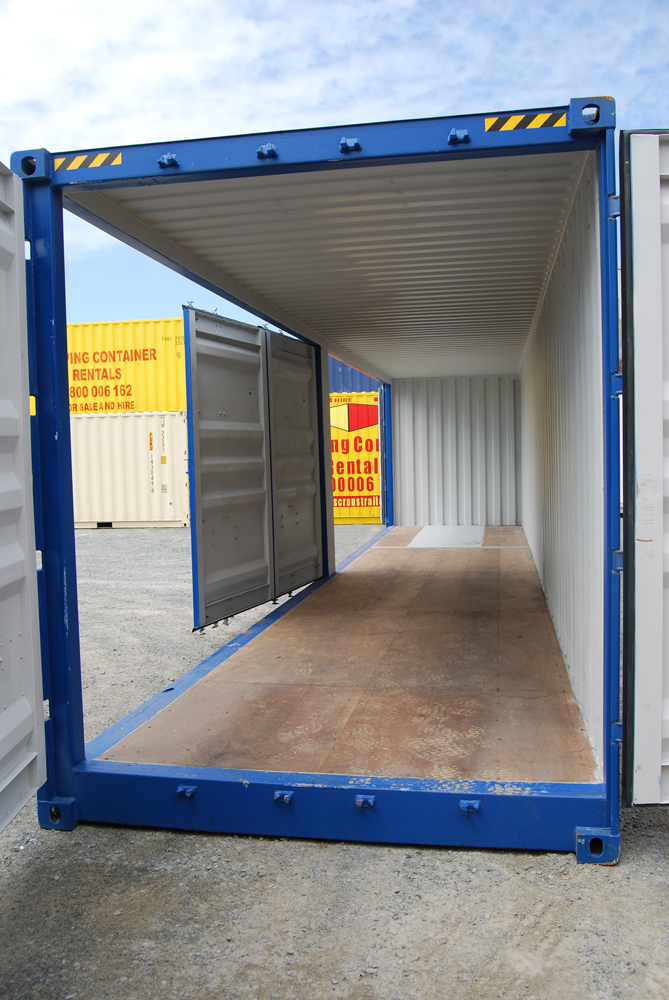 one time 40 ft 3 door open side container uncle wiener 39 s wholesale. Black Bedroom Furniture Sets. Home Design Ideas