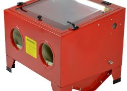 ARKSEN-25-Gallon-Bench-Top-Sand-Blaster-Cabinet-Abrasive-Air-Sand-Blast-80PSI-Auto-Part-0