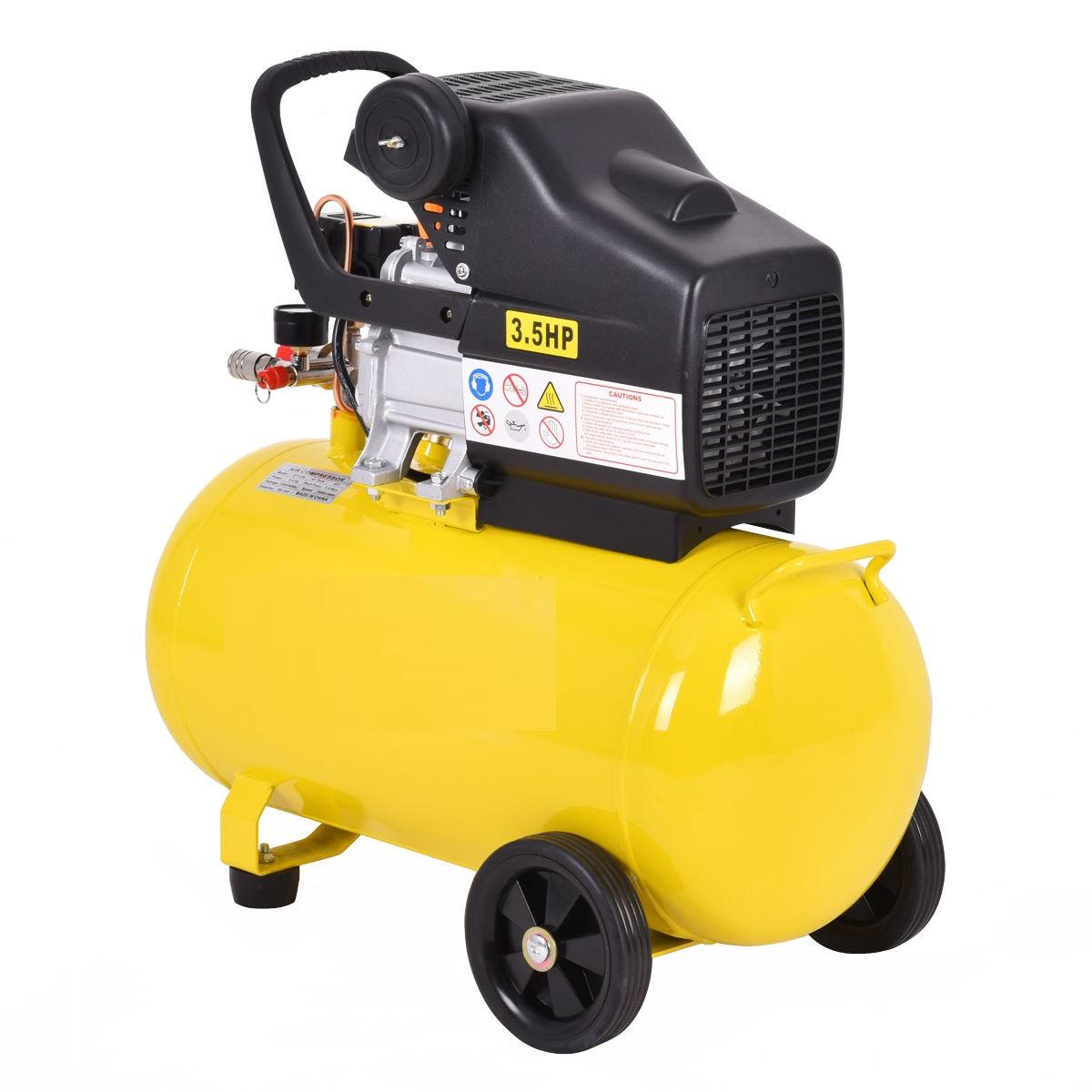 Heavy duty 3 5 hp 110v 10 gallon air compressor adjustable for 5 hp 110v electric motor