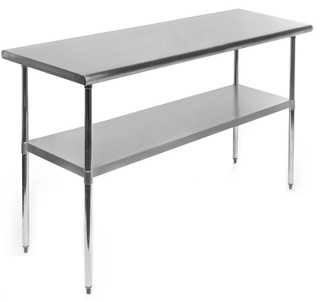 New Stainless Steel Tables 4 Ft 6 Ft 8 Ft Food