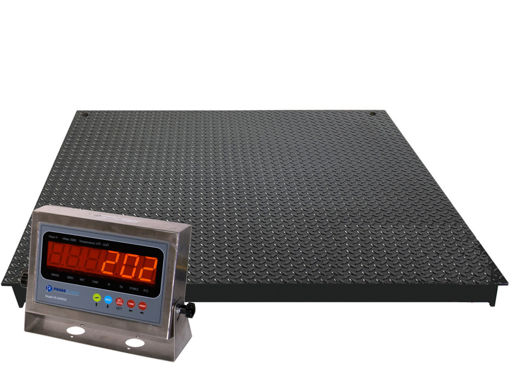 New ntep 4x4 ft floor scale 10 000 lbs 1 lbs dkt036 for 10000 lb floor scale