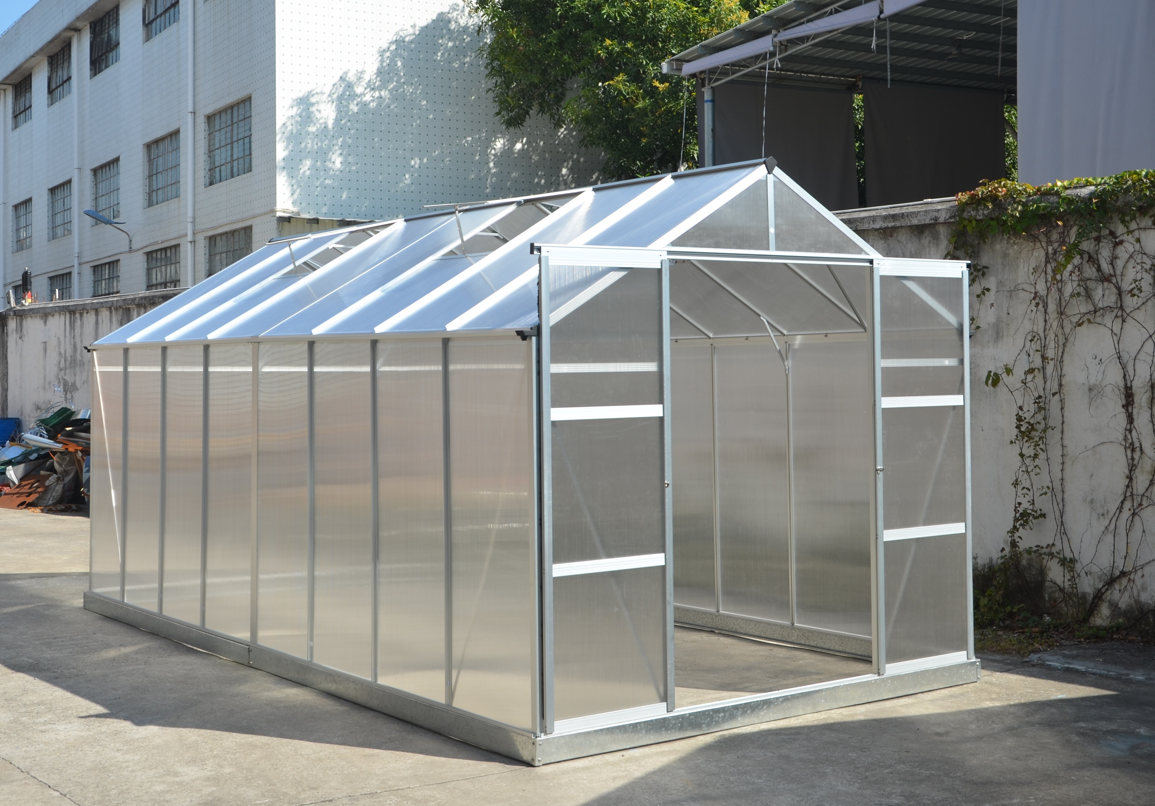 Peachy New 8 X 10 Ft 8 X 16 Ft Polycarbonate Green House Greenhouse Gh810 Home Remodeling Inspirations Gresiscottssportslandcom