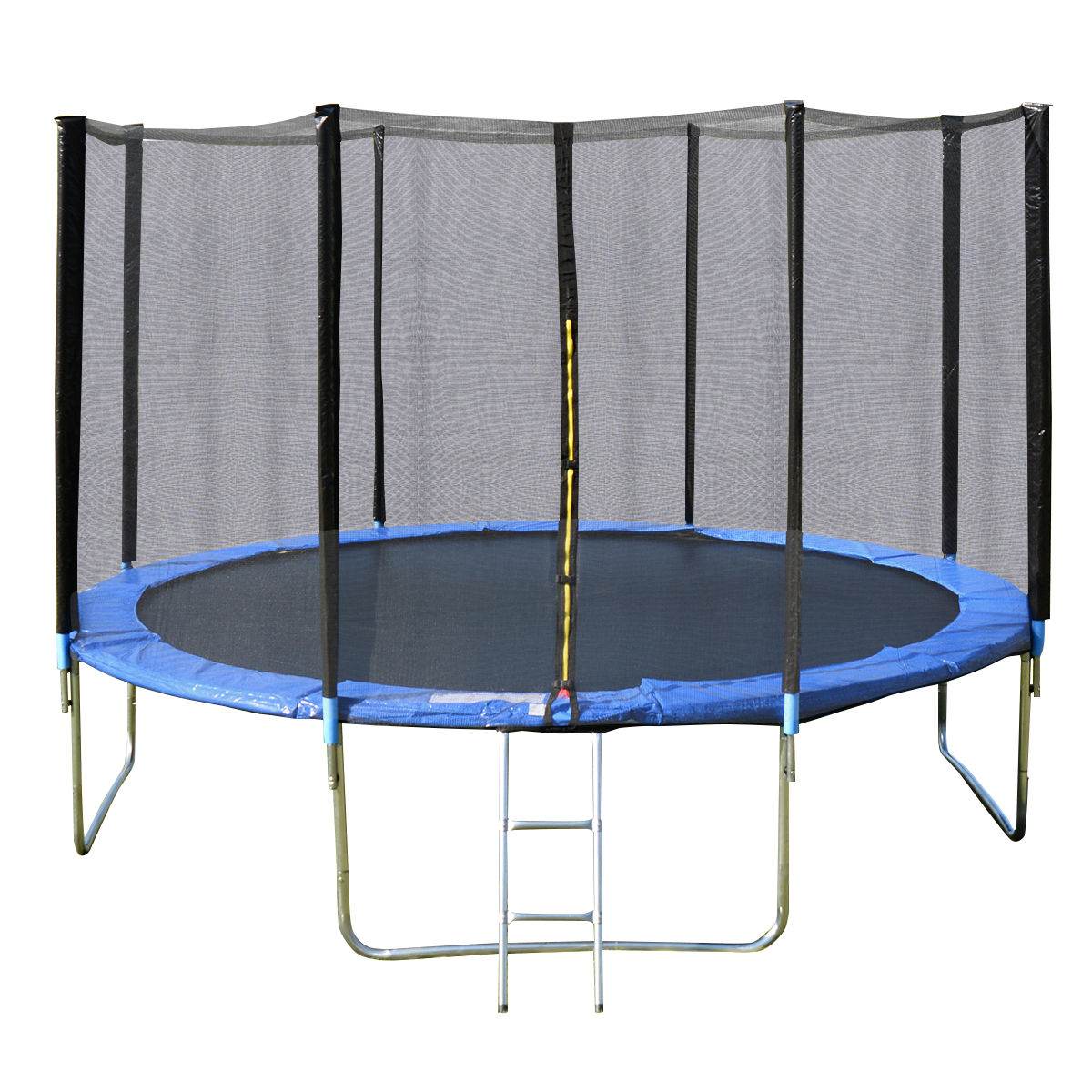 14 Ft Trampoline Combo Bounce Jump Safety: NEW HEAVY DUTY TRAMPOLINE 14 FT WITH LADDER & SAFETY NET