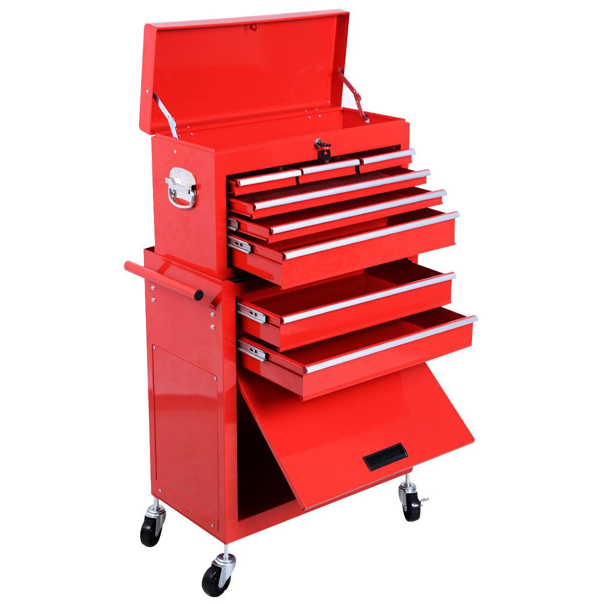 NEW TOOL BOX TOOL STORAGE RED MTC08