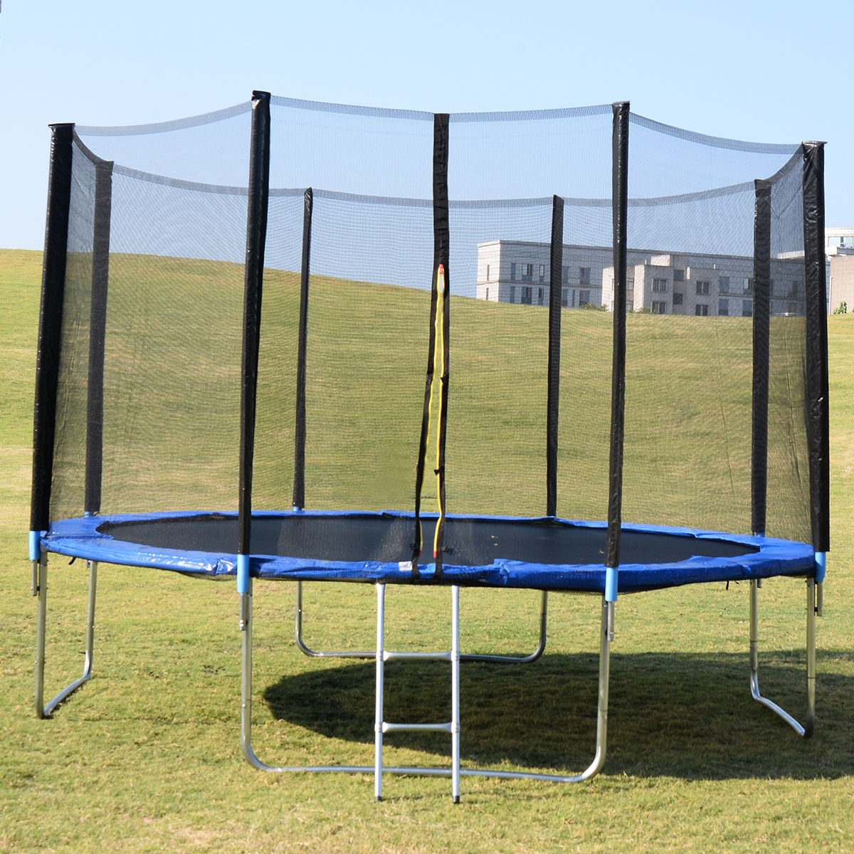 New Heavy Duty Trampoline 14 Ft With Ladder Safety Net Tramp