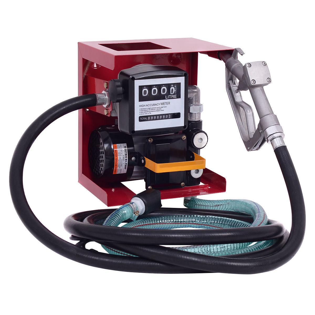 New 110v Fuel Transfer Pump W Meter Fp60 Uncle Wiener 39 S
