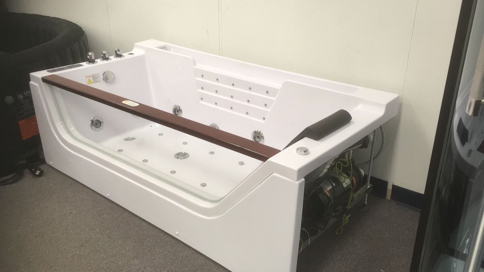 NEW LUXURY WHIRLPOOL JACUZZI BATHTUB HEATED MASSAGE TUB WATER ...