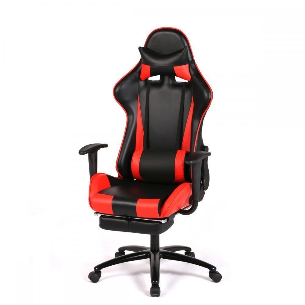 style p w computer adjustable racing office recline ikayaa height tilt armrest head swivel ergonomic gaming executive seat c function bucket chair bdad