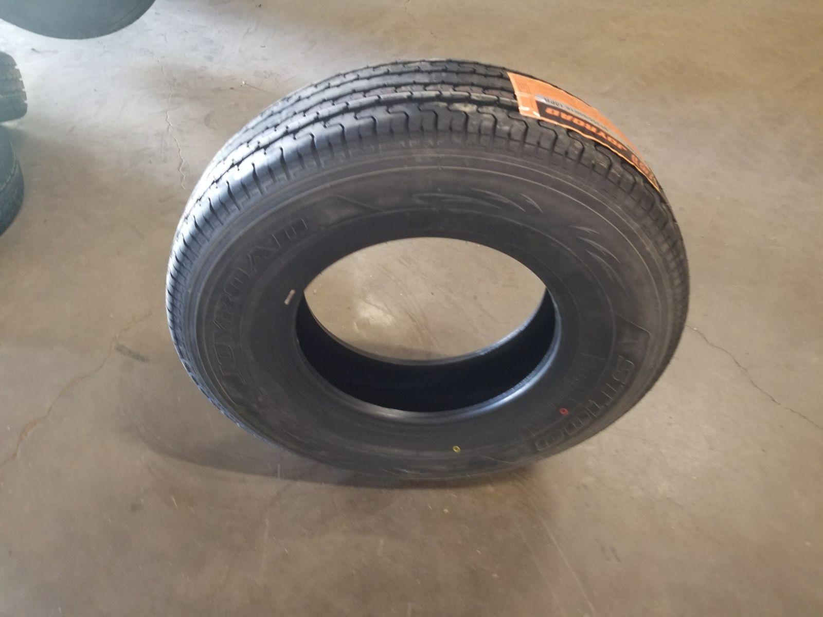 New Trailer Tires Radial 235 85r16 235 80r16 225 75r15 205 75r15 205