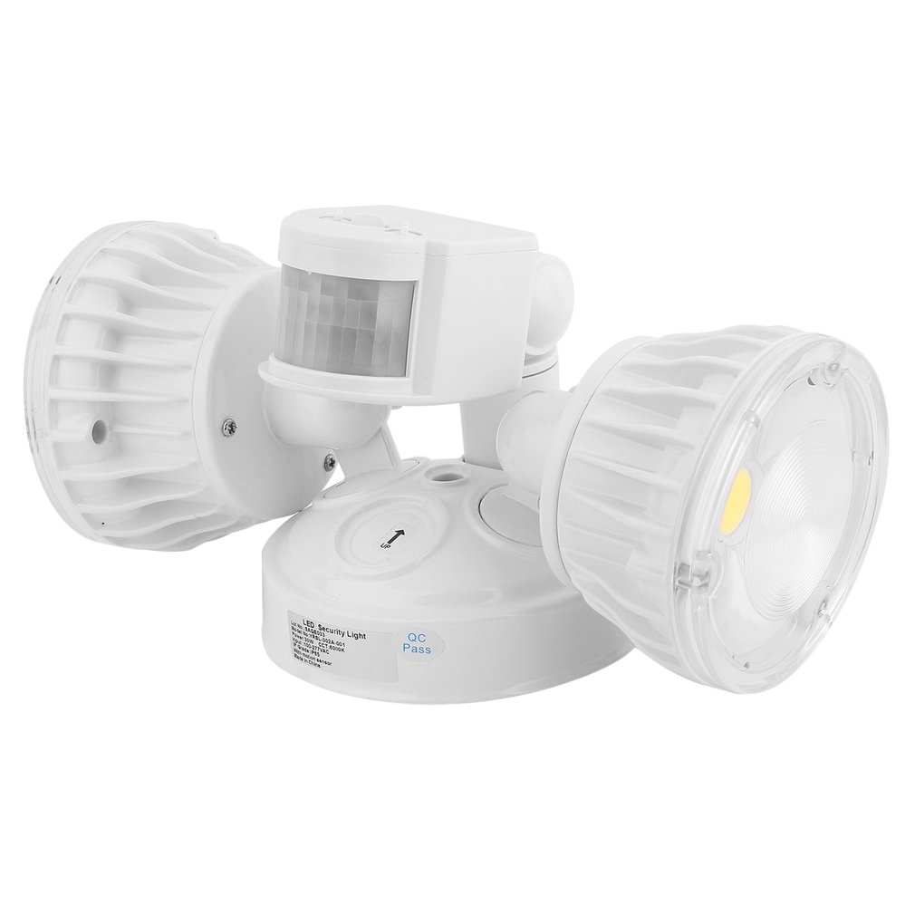 New 30w led security motion sensor light led flood light dual head new 30w led security motion sensor light led flood light dual head 30wyl as low as 3995 aloadofball Image collections