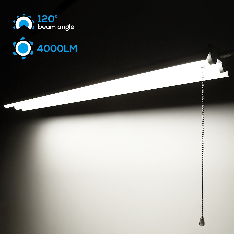 New 4ft Amp 8ft Linkable Shop Lighting 40w 72w Yrsl40w