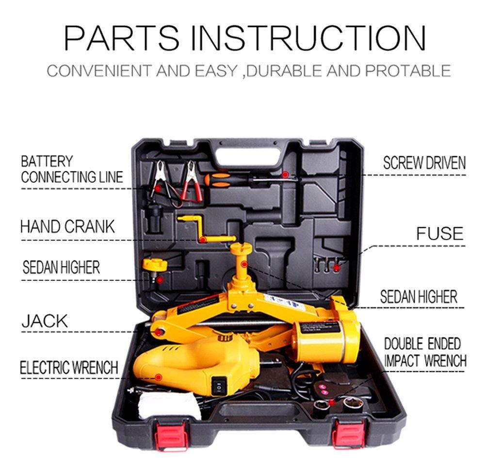 NEW 2.5 TON PORTABLE ELECTRIC 12V JACK KIT EJ25T - Uncle ...
