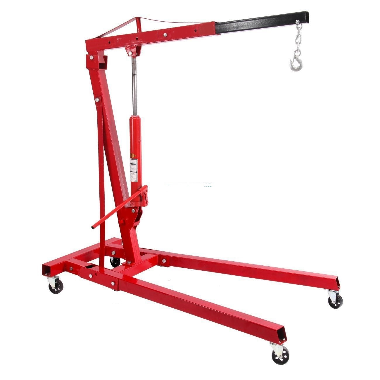 New 3 ton 2 ton hydraulic engine hoist shop crane hoist for Motor lift for sale