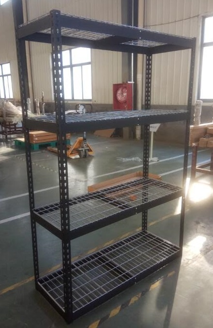 NEW 4 LAYER DOUBLE RIVETED HEAVY DUTY WIRE SHELVING RACKING SLT006 ...