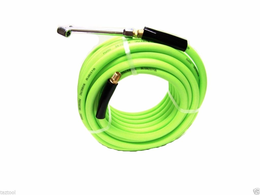 New 50 Ft 3 8 In Cold Weather Flex Air Hose Air Chuck