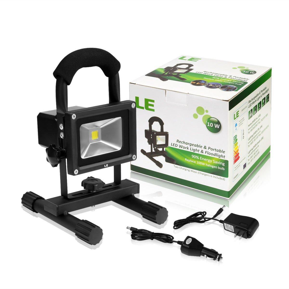 12 Watt Rechargeable Portable Led Work Light For Workshop: NEW 10W 20W 50 WATT RECHARGEABLE PORTABLE LED FLOOD LIGHT
