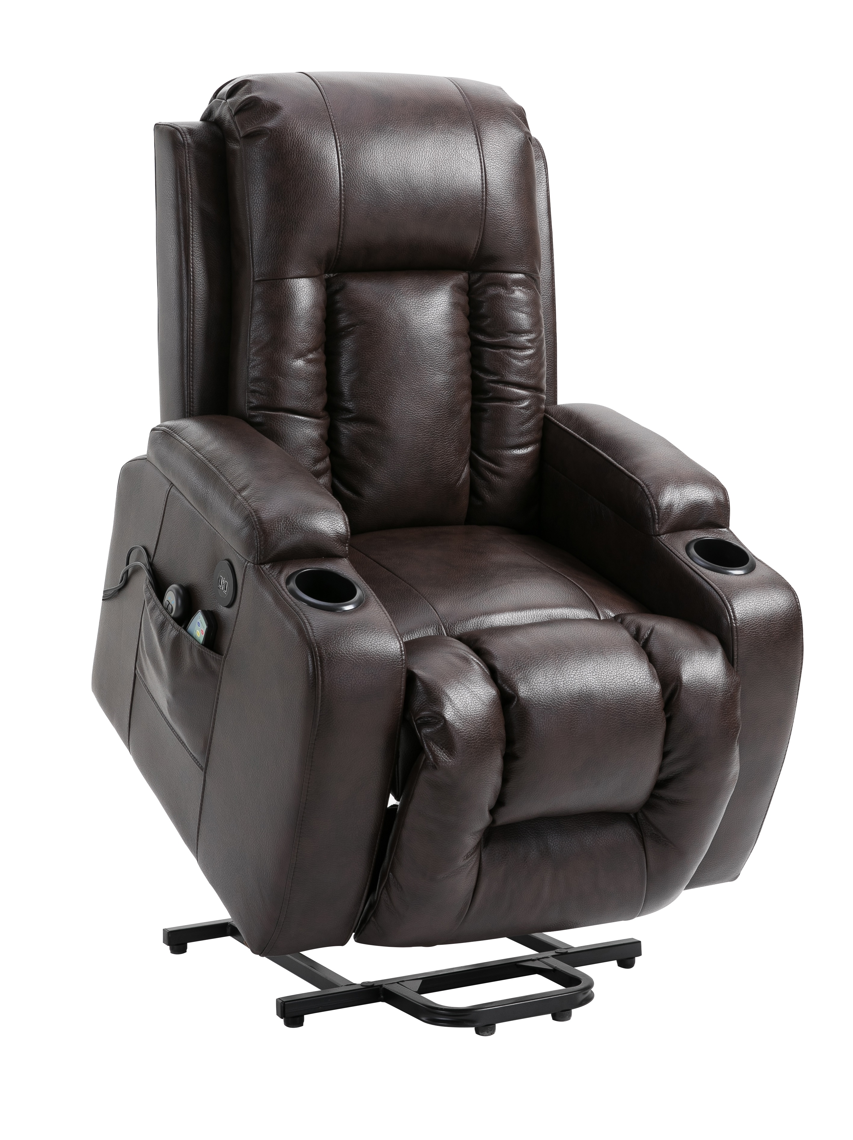 new air leather power lift recliner massage chair heated w massage rh unclewiener com