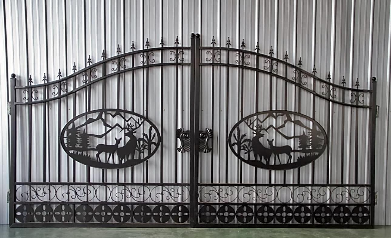 Driveway Gates Entrance