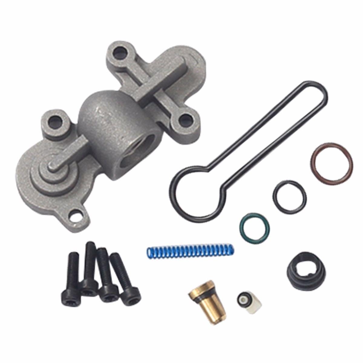 Fuel Pressure Regulator Blue Spring Upgrade Kit For 03-07 Ford 6 0L  Powerstroke zx15116