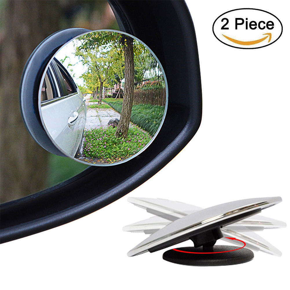 New 2 Pcs Blind Spot Mirror With Adjusting Bspma Uncle