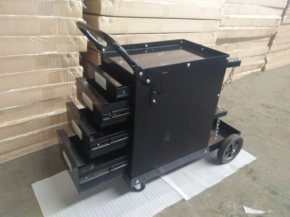 New Welding Cart 4 Drawer Cabinet Rolling Tc4316 Uncle