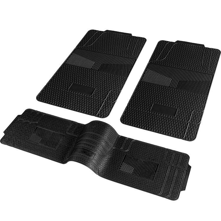 New 3 Pcs Rubber Mat Truck Floor Universal Floor Mat 3090