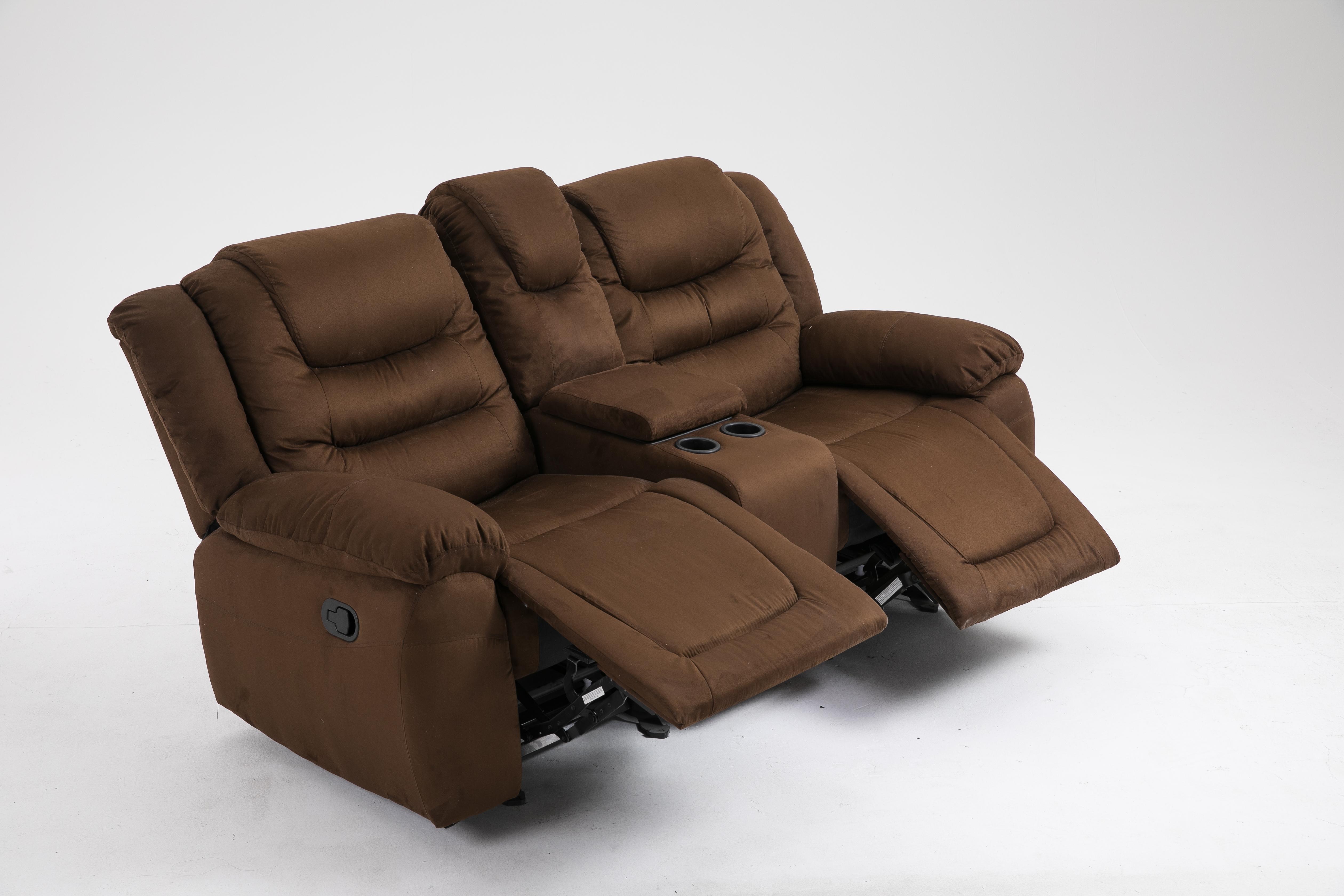 new 3 pcs air leather microfiber sofa set double rocker set w rh unclewiener com