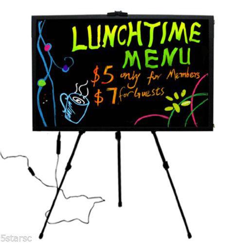 New 48 Mode Led Sign Board Neon Menu Board 32x24 Amp 32x48