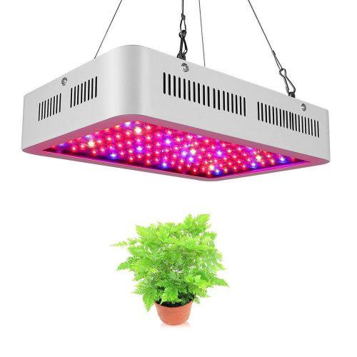 size 40 831a6 16557 NEW 600 WATT LED GROW LIGHT FULL SPECTRUM HYDROPONIC 600WLD