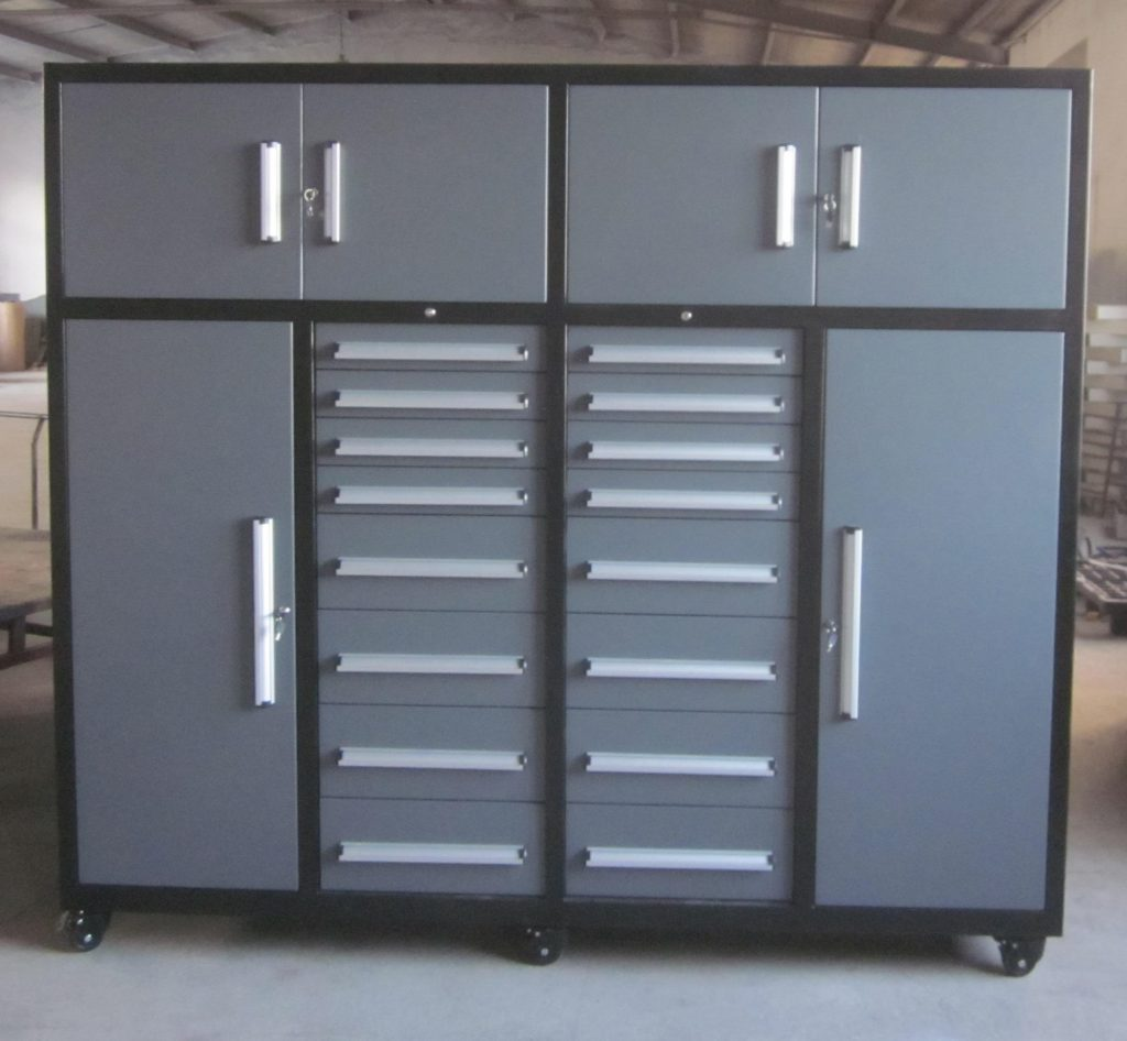 New Premium 20 Drawer Tool Cabinet Garage Storage Gray