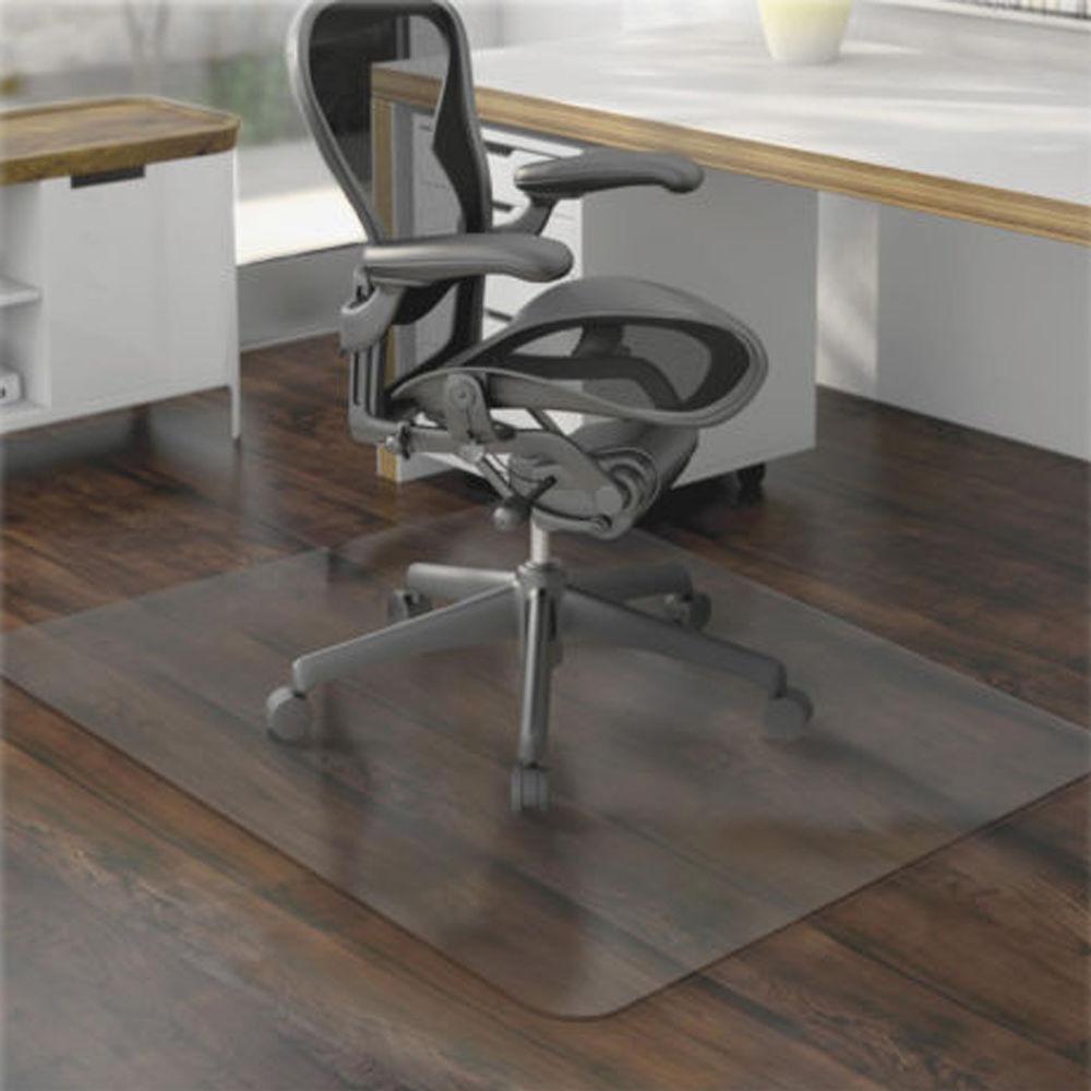 New Office Chair Mat Carpet Amp Hardwood 48 X 36 Pvc Floor