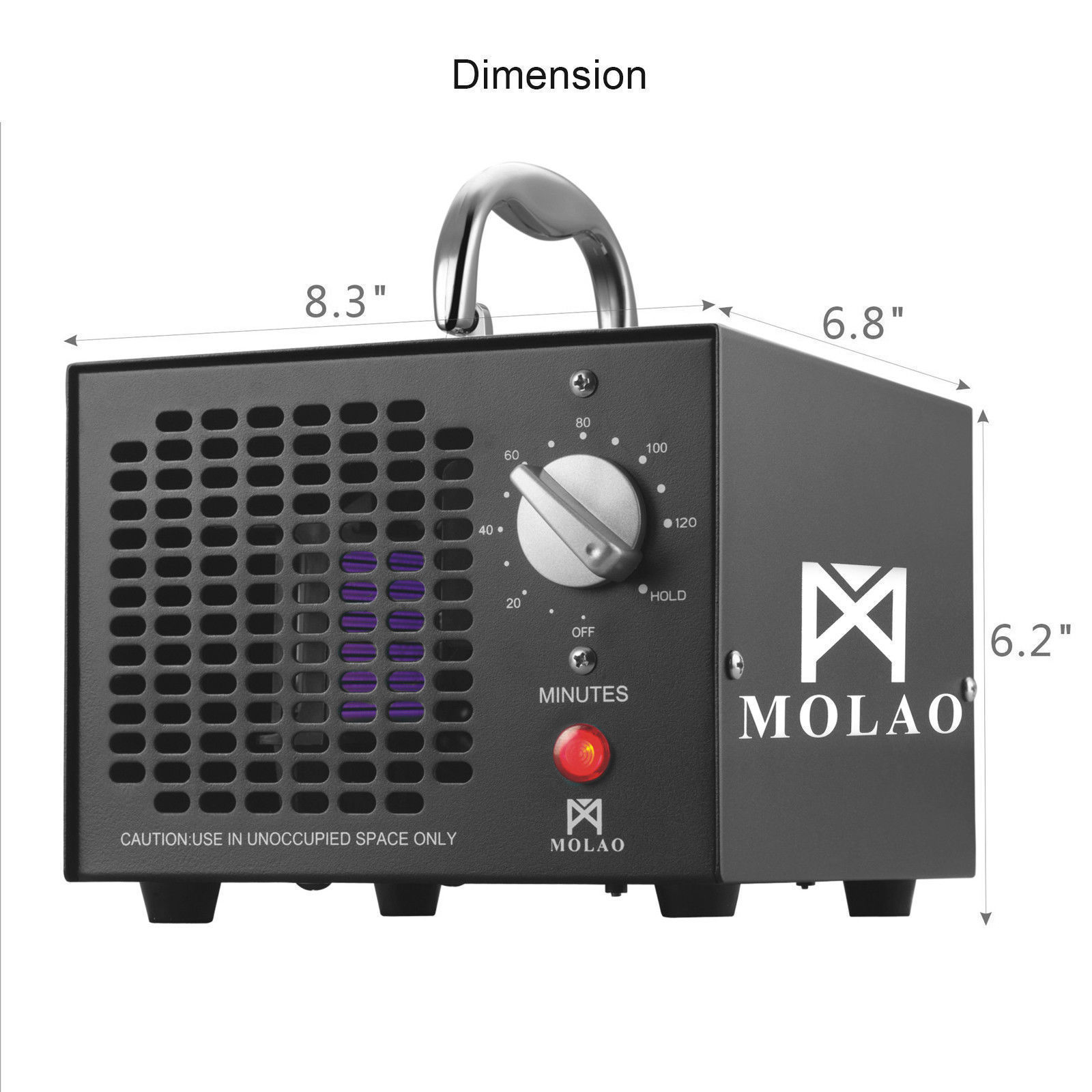 New Commercial Ozone Generator Air Purifier Smoke Mold