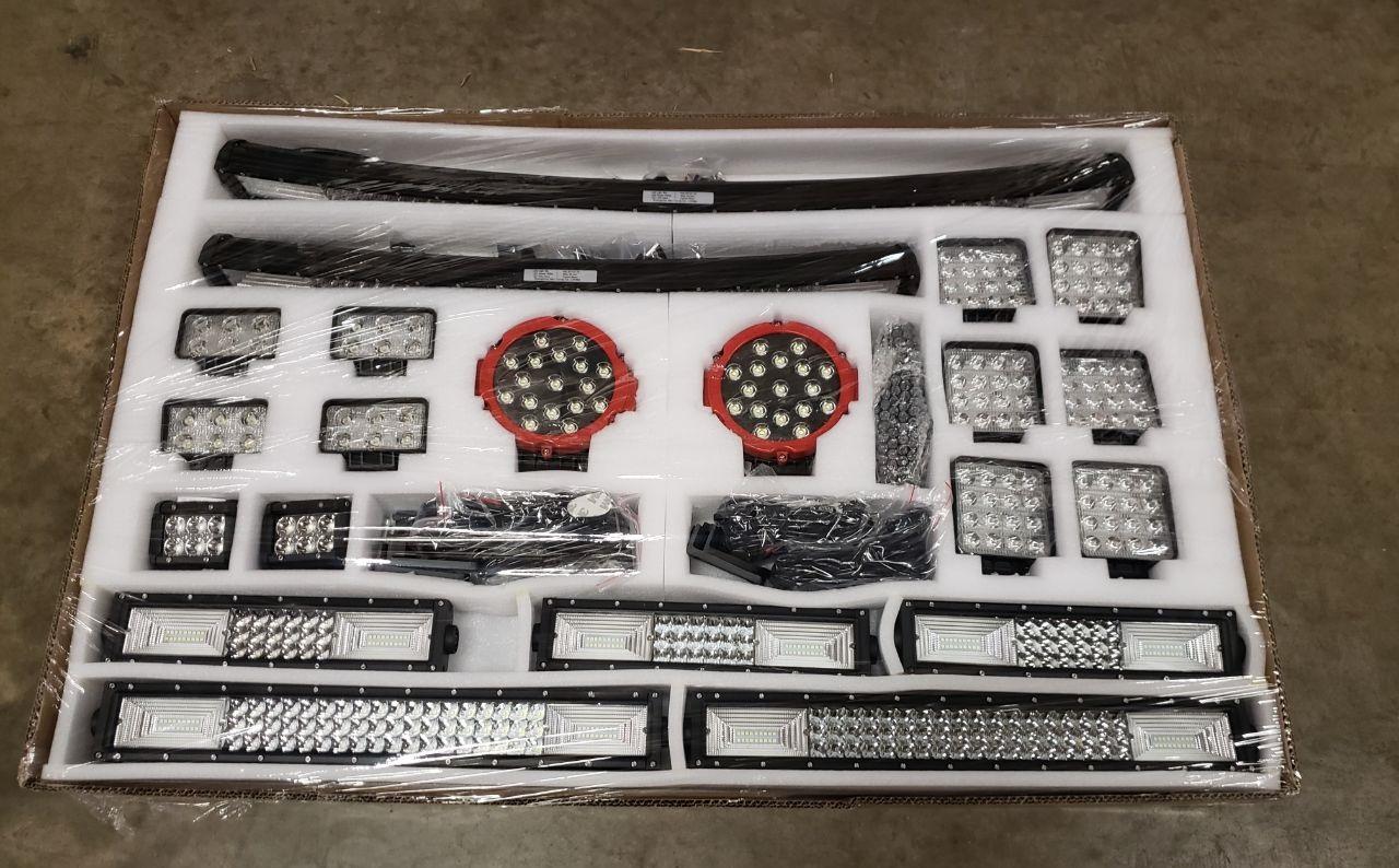 4ft Led Shop Light >> NEW SOLID FIRE 28 PCS 8D LED LIGHT BAR OFF ROAD LED KIT ...