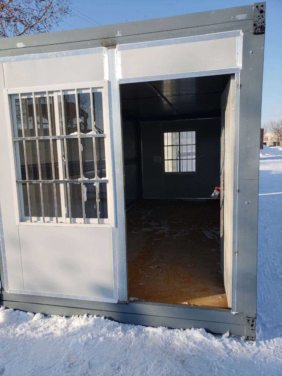 New 20 Ft Folding Insulated Office Container 20foc Uncle
