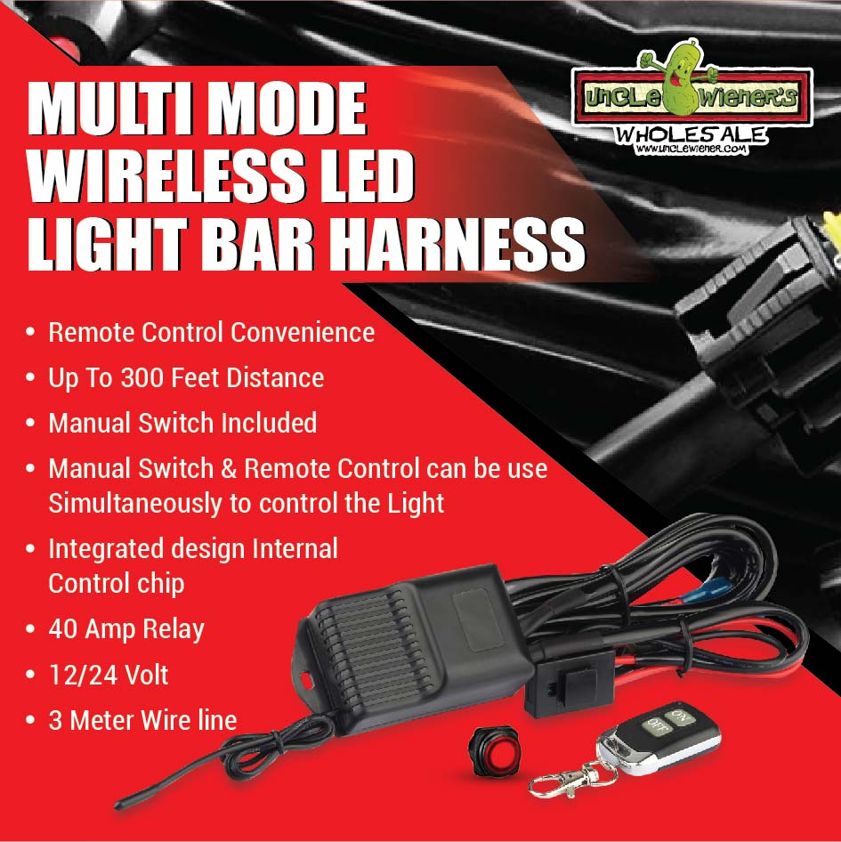 New Wireless Light Bar Switch Uncle Wiener S Wholesale