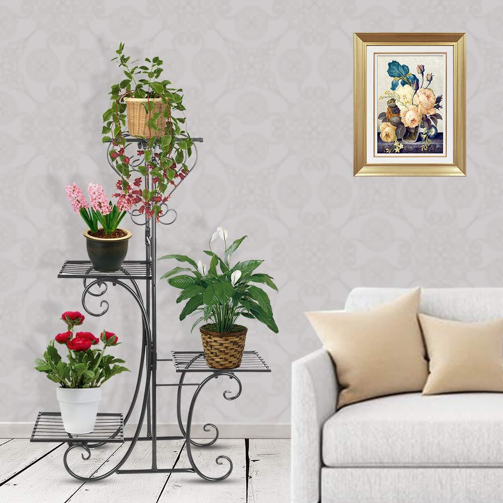 New 4 Tier Metal Flower Holder Indoor Plant Stand Pl130