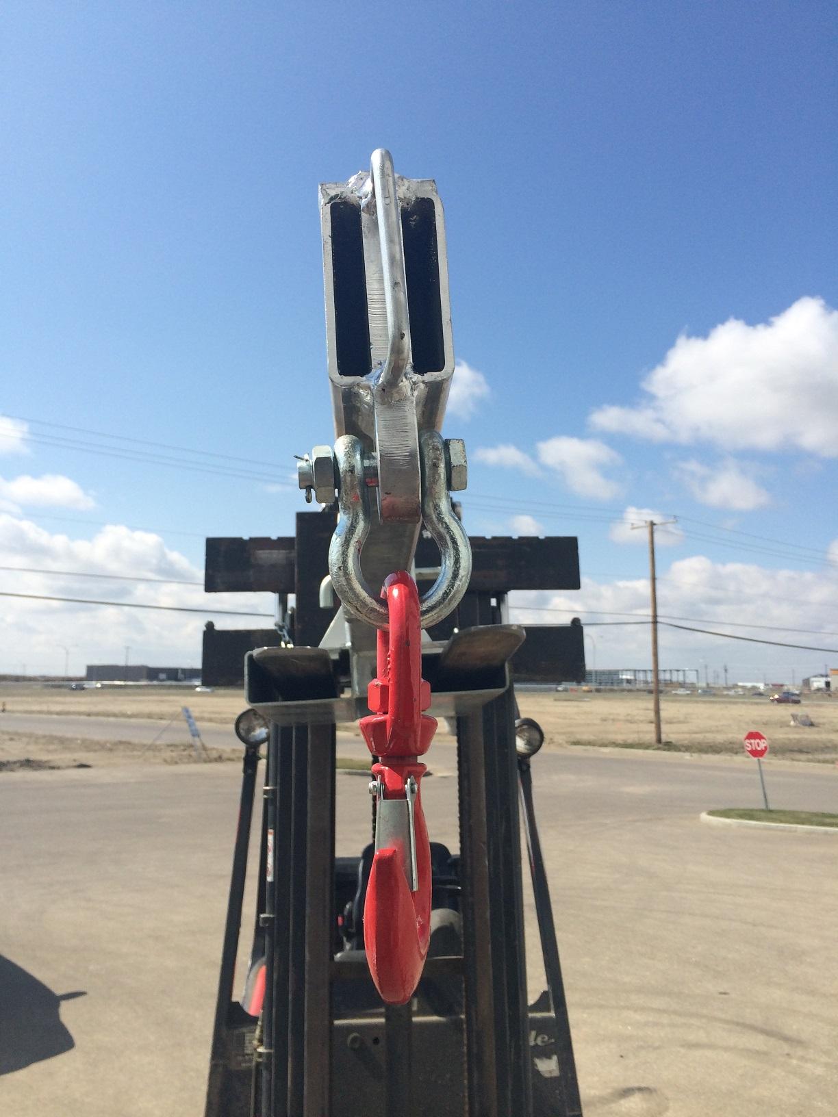 New Forklift Amp Steer Extension Jib Fjcs Uncle Wiener Wholesale