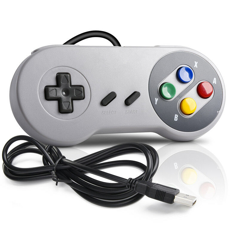 NEW SNES NES SNES CONTROLLER WIRED GAMING PAD JOYSTICK