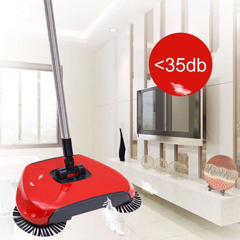 New Automatic Floor Sweeper Push Broom Dust Cleaning Mop