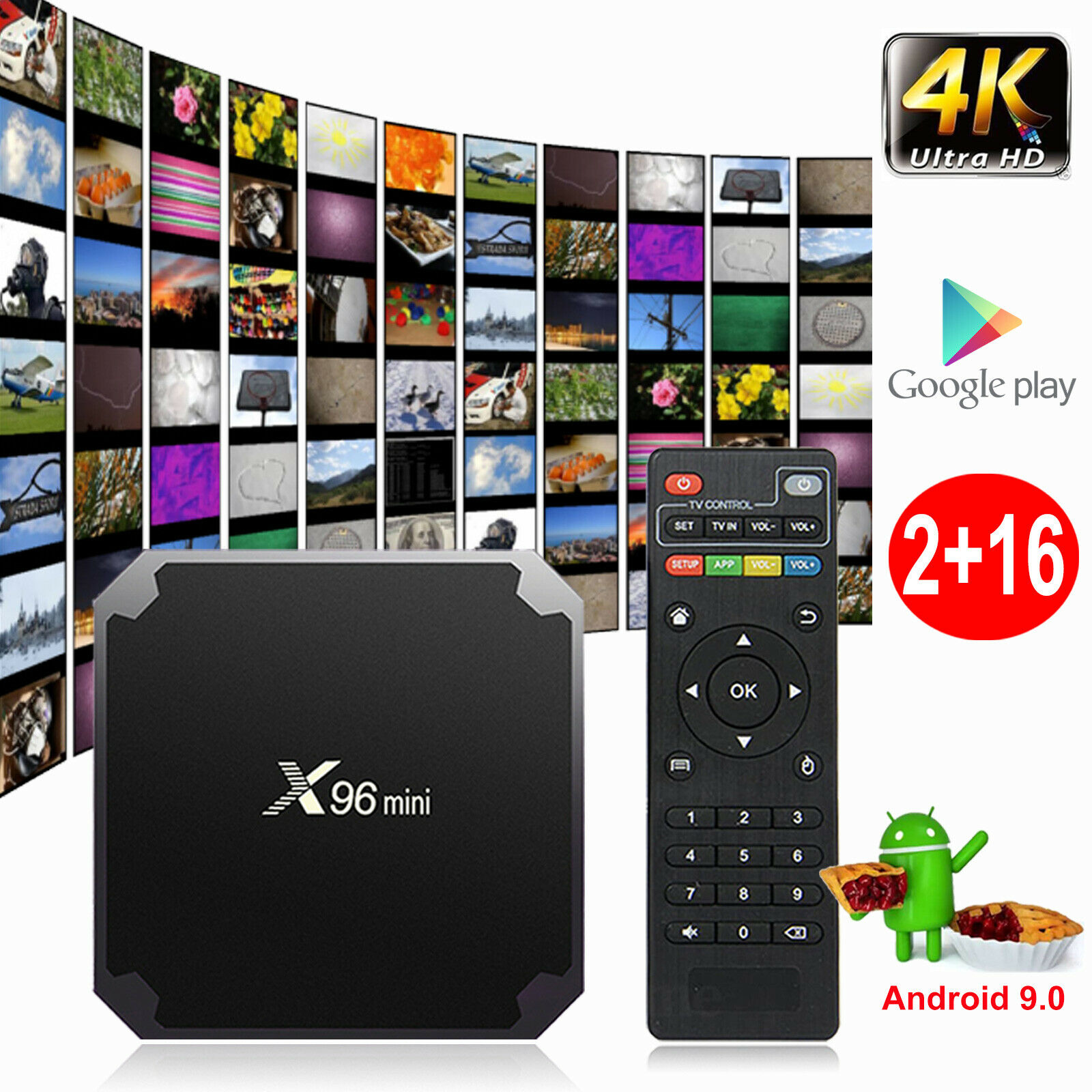NEW X96 MINI 2+16 GB SMART TV BOX QUAD CORE 4K X96112 – Uncle Wiener's  Wholesale