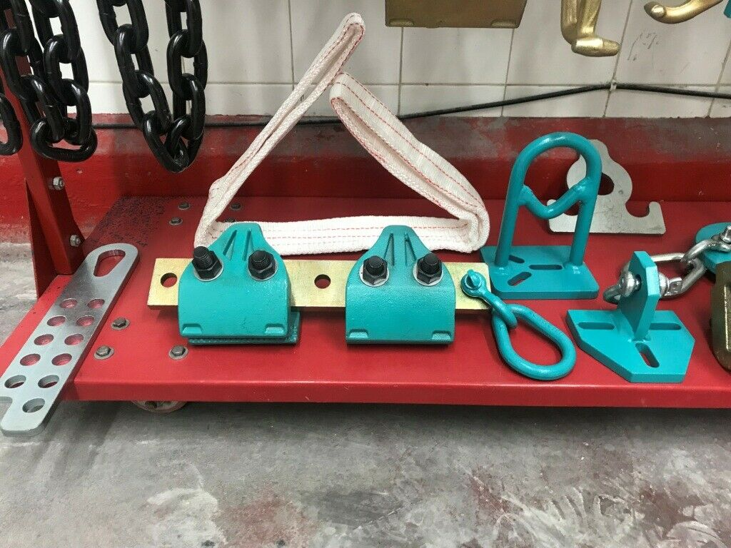 AUTO Body Frame Machine MO Clamp Style Sheet Metal Hook Tools Plate CLAMP Double